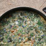 Velikonoční omeleta – užijte si jaro na talíři